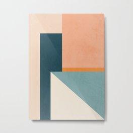 Minimal Abstract 16 Metal Print