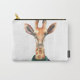 Lady Giraffe Carry-All Pouch