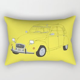 Citroën 2CV Rectangular Pillow