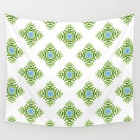 wallpaper Wall Tapestries featuring Wallpaper When by Truly Juel
