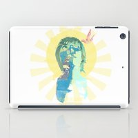 water color iPad Cases featuring water color by THE83JUICE