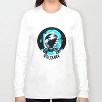 spaceman Long Sleeve T-shirts featuring Spaceman by Humberto Milhomem