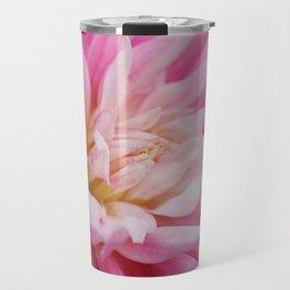 Pink Dahlia Bloom from Butchart Gardens Travel Mug