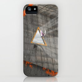 Locked angel iPhone Case