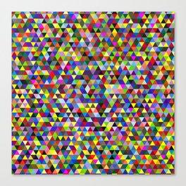 Colored Triangles / Triangulos de Colores Canvas Print