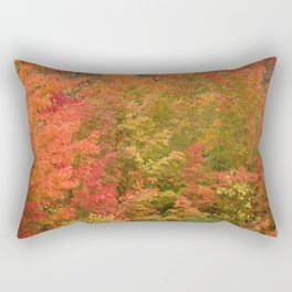 My favorite color is October Rectangular Pillow
