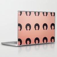 afro Laptop & iPad Skins featuring Afro by Amanda Corbett