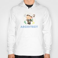 architect Hoodies featuring Architect by Alapapaju