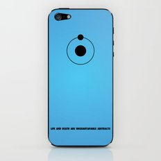 Dr. Manhattan iPhone & iPod Skin