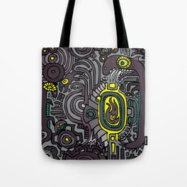 BELLY FIRE Tote Bag
