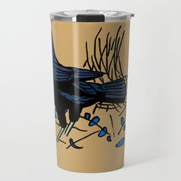 Satin Bower Bird Travel Mug