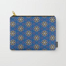 Galactic Flowers Carry-All Pouch