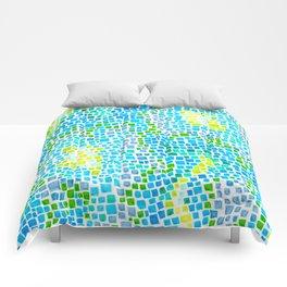 Blue Cobblestones Comforters