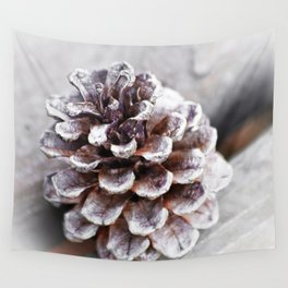 Soft Lone Pinecone Wall Tapestry
