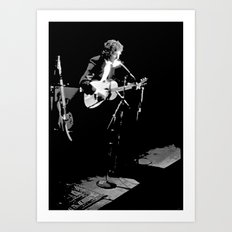 Dylan - The Tour in '74 Art Print