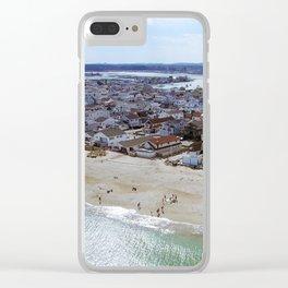 NH Beach Day Clear iPhone Case