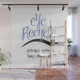 Eye Recycle Wall Mural