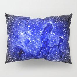 Galaxy : Pillars of Creation Blue Pillow Sham