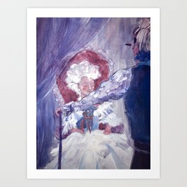courting Art Print