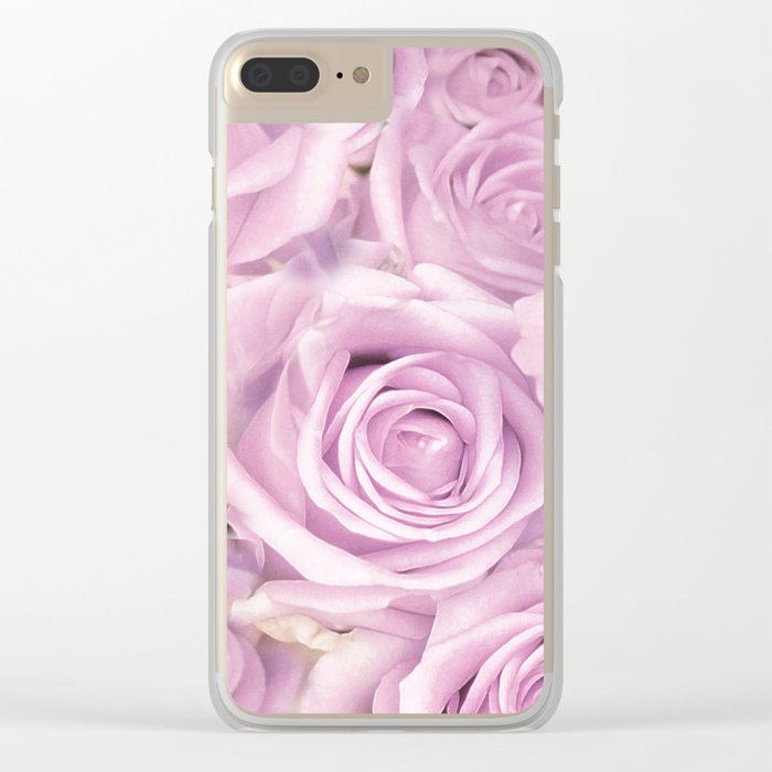 Romantic roses 11 Clear iPhone Case