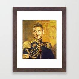 Totti Framed Art Print