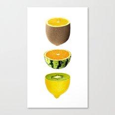 Mixed Fruits Canvas Print