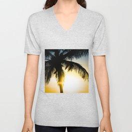 Palm Beach Gold Unisex V-Neck