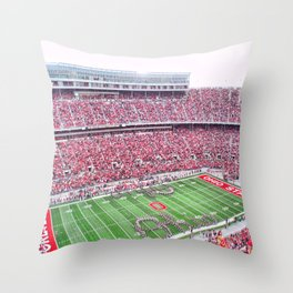 GO BUCKS!  Throw Pillow