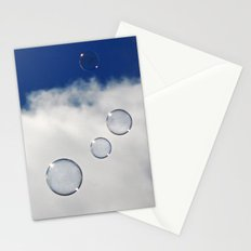 Floating Bubbles Stationery Cards