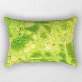 summing green Rectangular Pillow