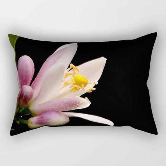Lemon Buds Rectangular Pillow