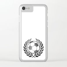 Vintage football Clear iPhone Case