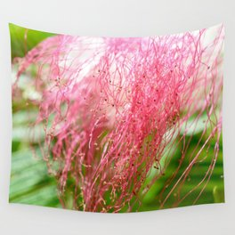 Pink Costa Rican Flower Wall Tapestry