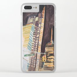 47 street Clear iPhone Case