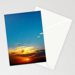 Sunset 071318 Abilene, Texas Stationery Cards