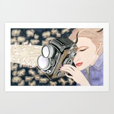 Capture The Moment Art Print