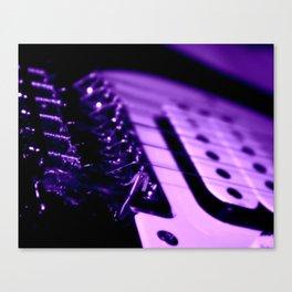 Guitar in Purple fine art photography Canvas Print