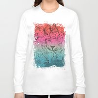 safari Long Sleeve T-shirts featuring Safari by Cela Luz
