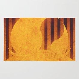 Sun - Solar Flare Rug