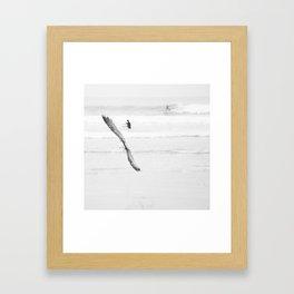 catch a wave VI Framed Art Print