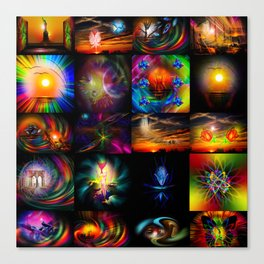 Collected Works Canvas Print
