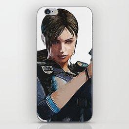 JILL Valentine - Armed and Beautiful iPhone Skin