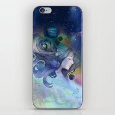 A thousand worlds on my mind iPhone & iPod Skin