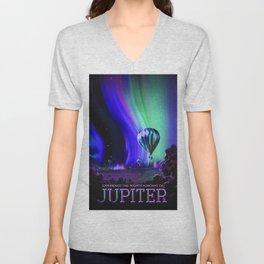 Jupiter, NASA/JPL Space Travel Poster Unisex V-Neck