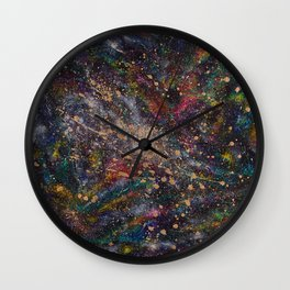 Universal Space Wall Clock