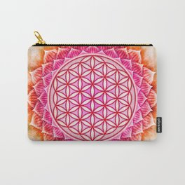 Flower Of Live - Lotos Carry-All Pouch