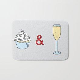 Cupcakes & Champagne Bath Mat