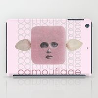 camouflage iPad Cases featuring Camouflage by fabiotir