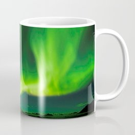 Northern Lights In Iceland Coffee Mug