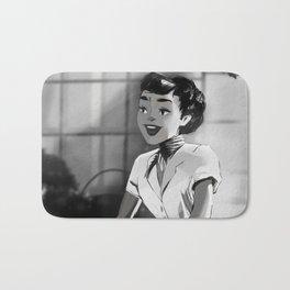 Anya Smith - Roman Holiday (Audrey Hepburn) Bath Mat